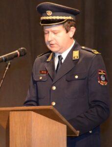 Silvo Režek, poveljnik